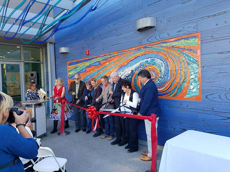 Imperial Beach Library Ribbon Cutting